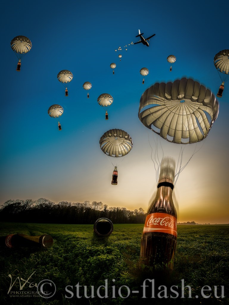 Coca-cola photo manipulation
