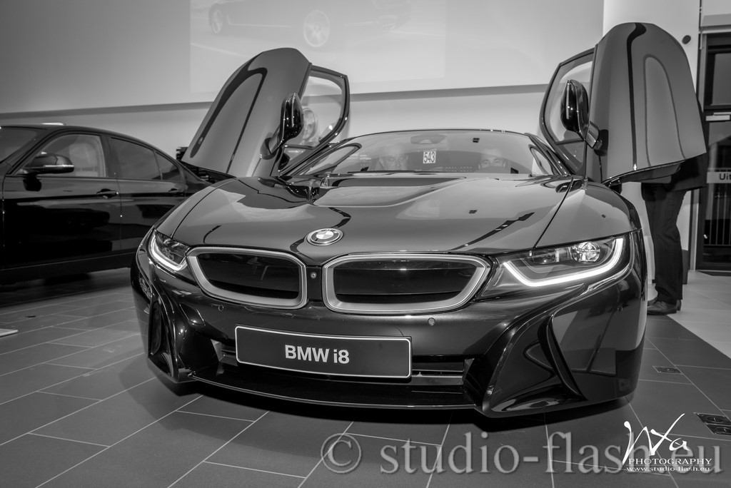 i8 BMW tuning voiture sport sportive design concept